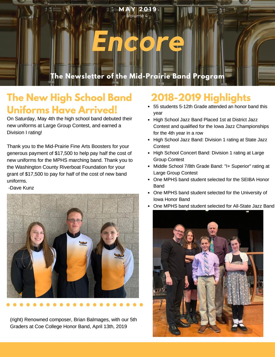 Encore May 2019 by mphawksalumni - issuu
