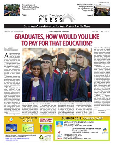 West Covina Press - 05/30/2019 by Beacon Media News - issuu