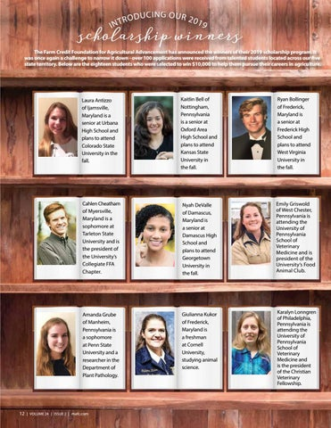 Page 12 of Introducing Our 2019 Scholarship Winners