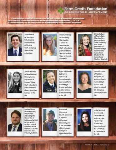 Page 13 of Introducing Our 2019 Scholarship Winners