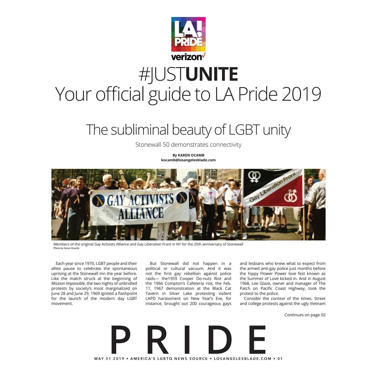 Losangelesblade com, Volume 3, Issue 22, May 31, 2019 Pride Guide by