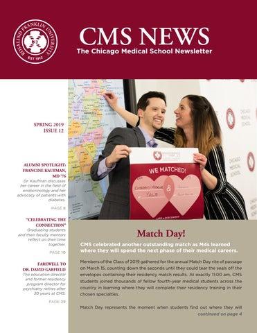 CMS News Spring 2019 by Chicago Medical School @ RFUMS - issuu