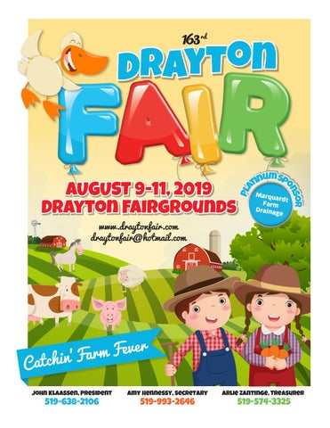 Drayton Fair 2019 by WHA Publications Ltd  - issuu