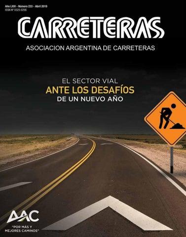 ae0fb0c1c Revista Carreteras Nº233 by Asociación Argentina de Carreteras - issuu