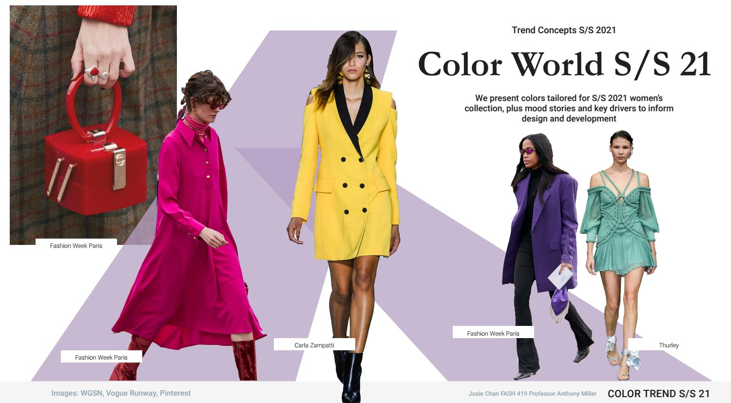 Color Trend Report Spring Summer 8 by Josie Chan - issuu