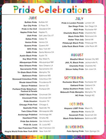 Page 21 of Pride Celebrations
