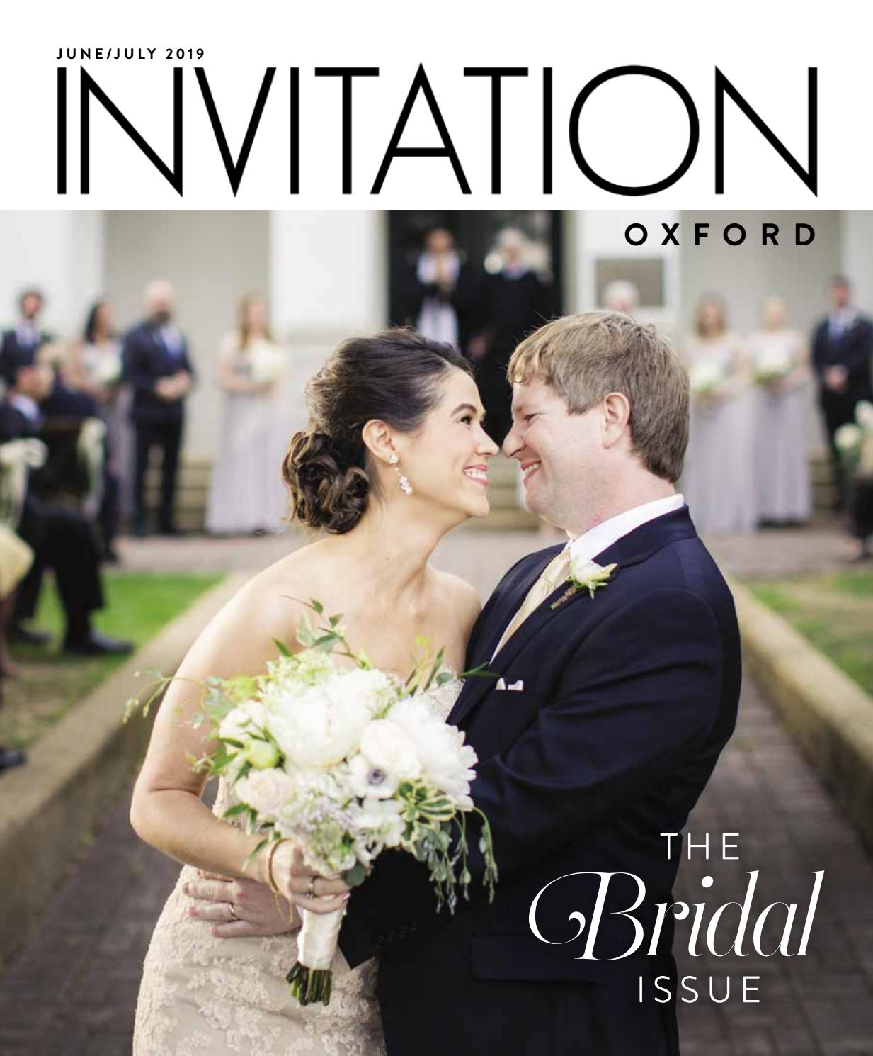 Invitation Oxford June July 2019 By Invitation Magazines Issuu