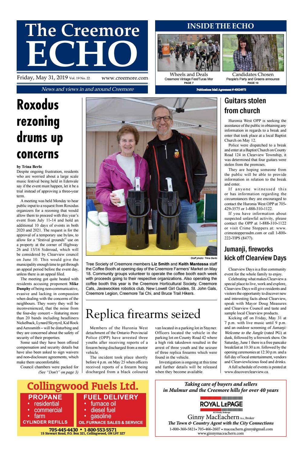May 31, 2019 by The Creemore Echo - issuu