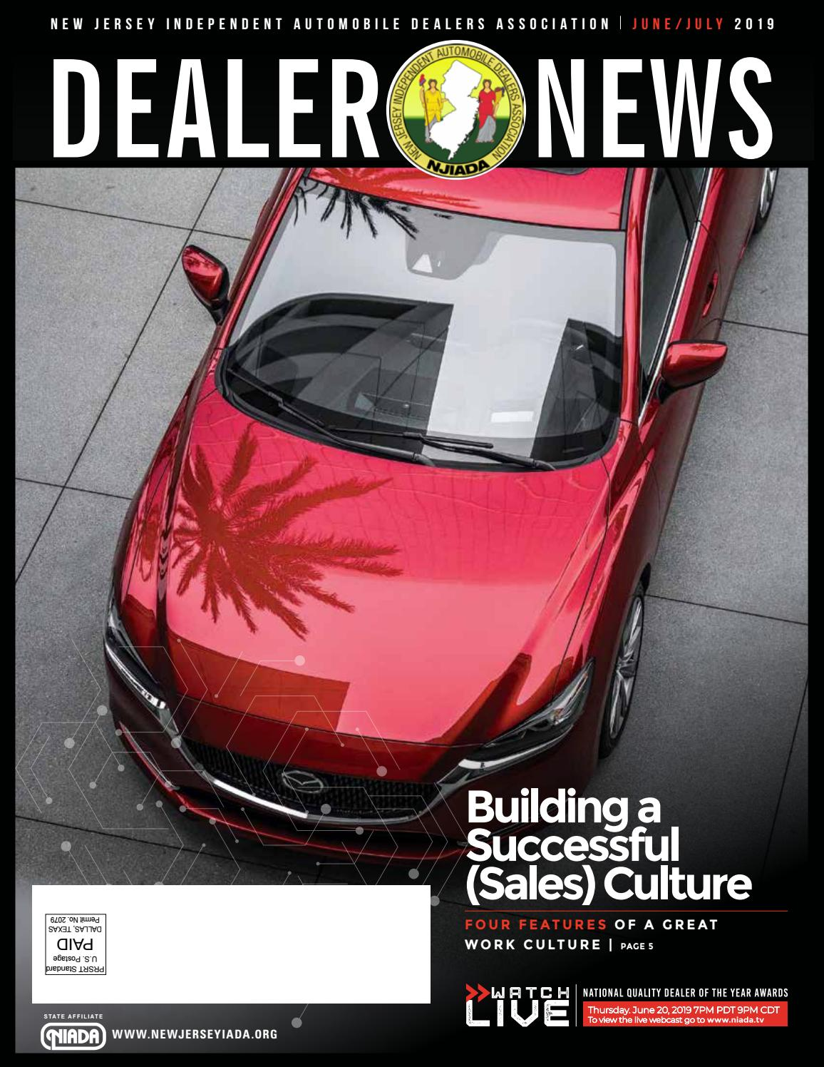 NJ | NJ Dealer News | June 2019 by NIADA - issuu