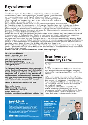 Page 2 of News from our Community Centre