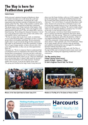 Page 4 of The Way is here for Featherston youth