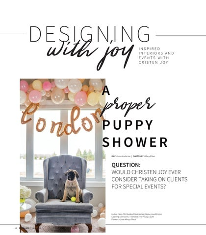 Page 24 of Designing with Joy: A Proper Puppy Shower