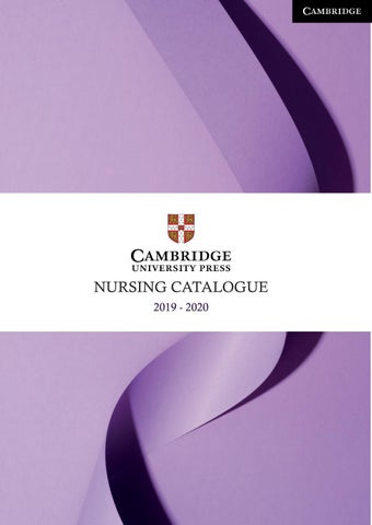 Nursing Catalogue 2019 - Australia and New Zealand by