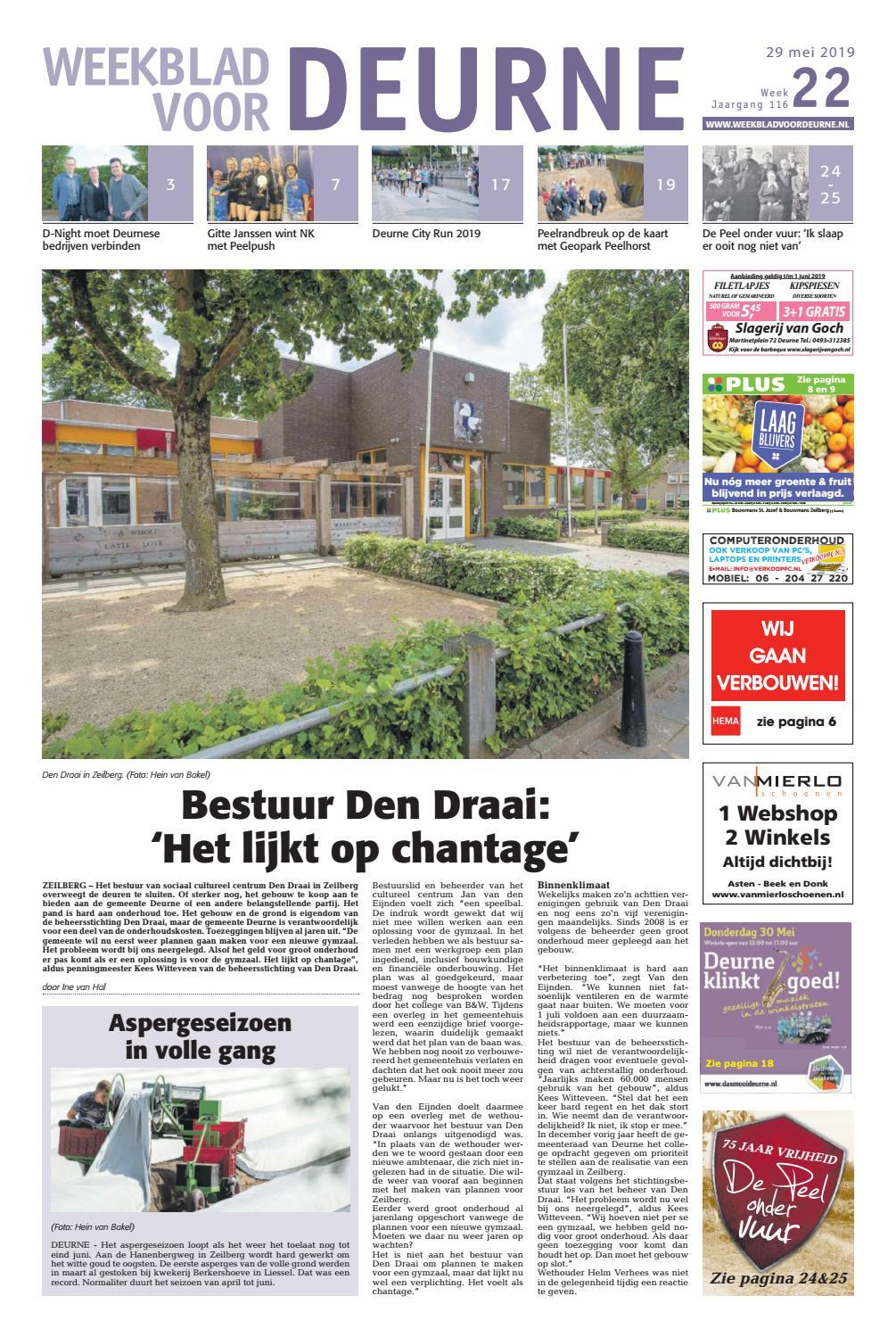 11ec80a027e Weekblad voor Deurne 30-05-2019 by Das Publishers! - issuu