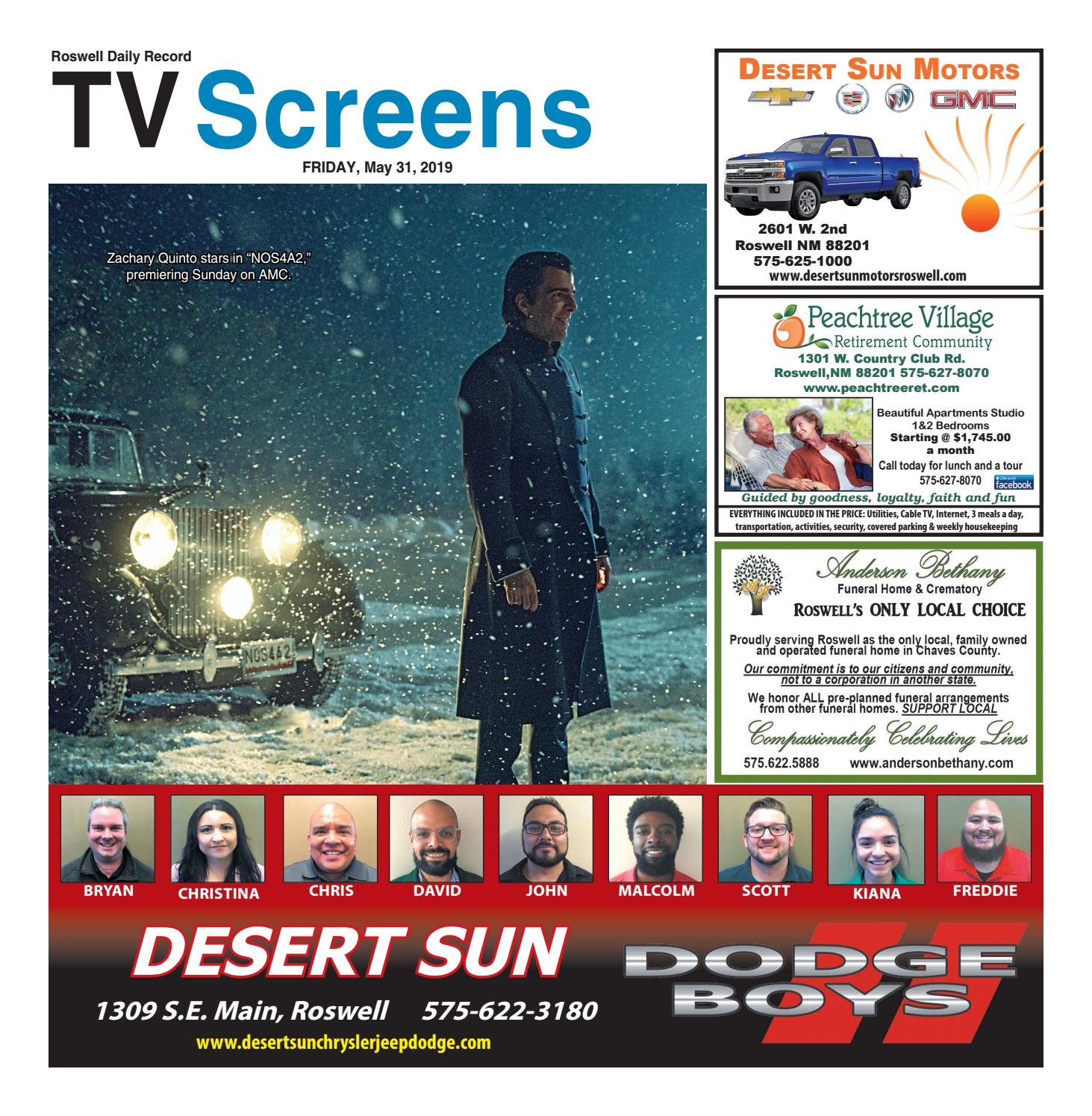Screens 5 31 19 by Roswell Daily Record - issuu