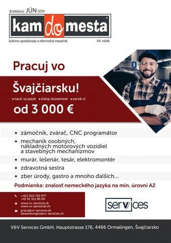 8ade0cd7a Kamdomesta Bratislava - 6 / 2019 by Kamdomesta - issuu