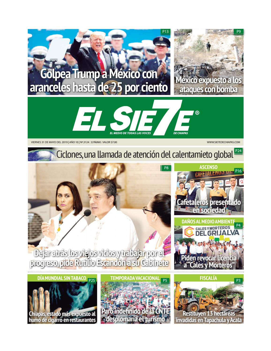 310519 By El Sie7e De Chiapas Issuu