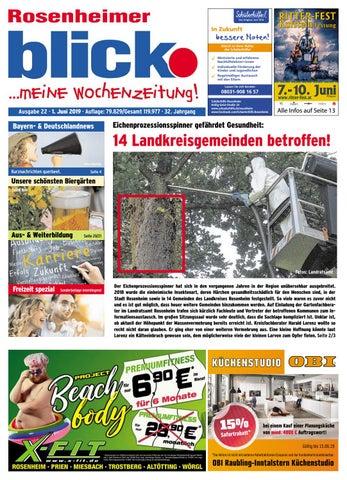Rosenheimer blick Ausgabe 22 | 2019 by Blickpunkt Verlag issuu