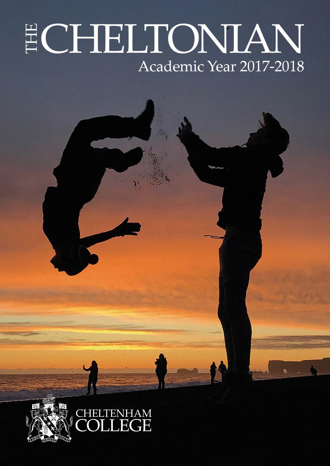 The Cheltonian 2018 by Cheltenham College - issuu