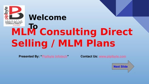 Direct Selling consultant in Delhi, India | Piplbyte by