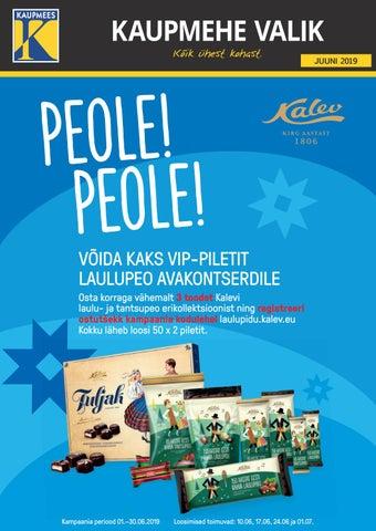 08b3b6376ac Kaupmehe Valik mai 2019 by Kaupmees & KO AS - issuu