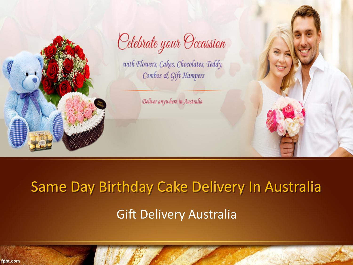 Awesome Online Same Day And Midnight Birthday Cake Delivery In Australia Funny Birthday Cards Online Fluifree Goldxyz