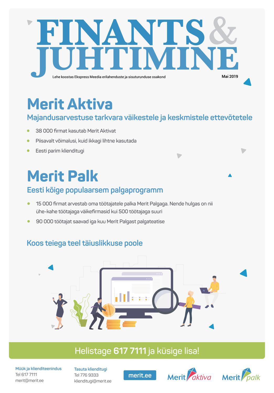 3514f11745a Finants ja juhtimine (mai 2019) by Eesti Päevalehe AS - issuu