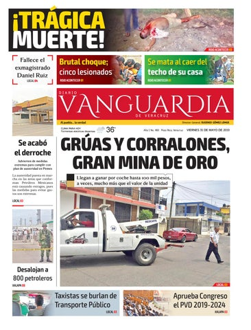 7ad28d27b0 Diario Vanguardia Digital 31 de Mayo 2019 by Vanguardia Veracruz - issuu
