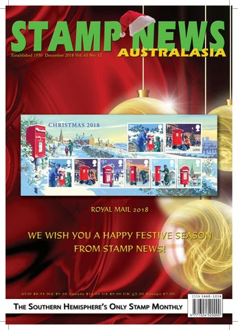 Stamp News Australasia - December 2018 by Stamp News Australasia - issuu