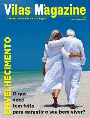 7aa554dd0a Vilas Magazine   Ed 245   Junho de 2019   32 mil exemplares