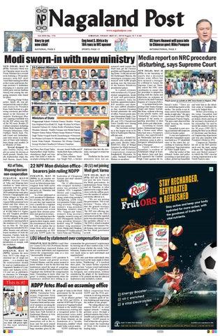 May 31, 2019 by Nagaland Post - issuu