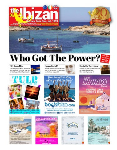 d0a34d4751 The Ibizan 899 30 May 2019 eissue by The Ibizan, the all new Ibiza ...