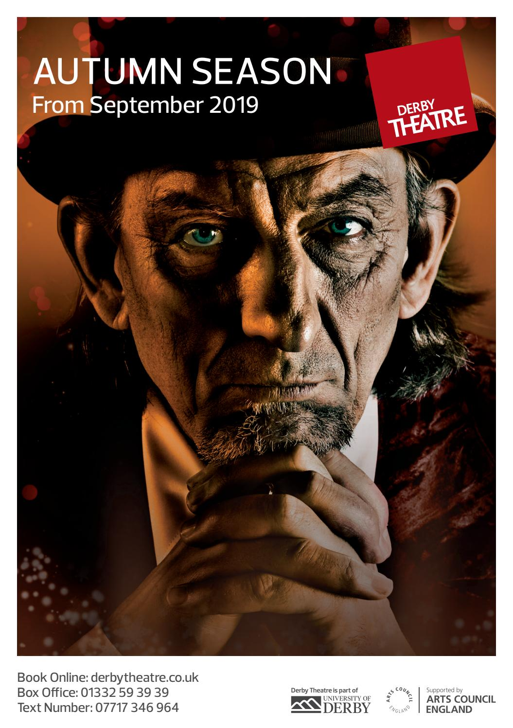 Derby Theatre Autumn 2019 Season Brochure By Derby Theatre