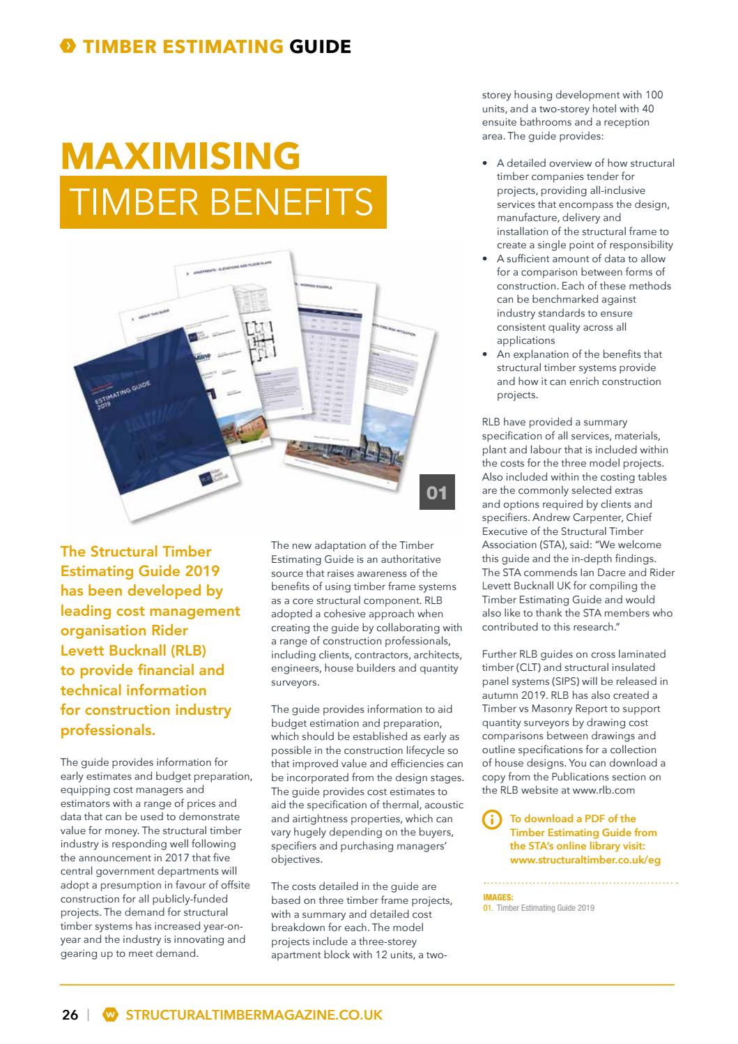 Structural Timber - Spring Issue 2019 by Radar