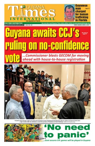 Guyana Times International 31st May 2019 by Gytimes - issuu