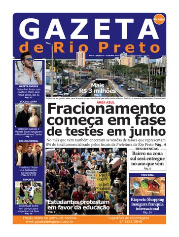26fd07e058 Gazeta de Rio Preto - 31 05 2019 by Social Light - issuu
