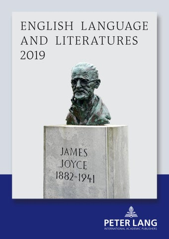 English Language And Literatures 2019 By Peter Lang Publishing Group Issuu
