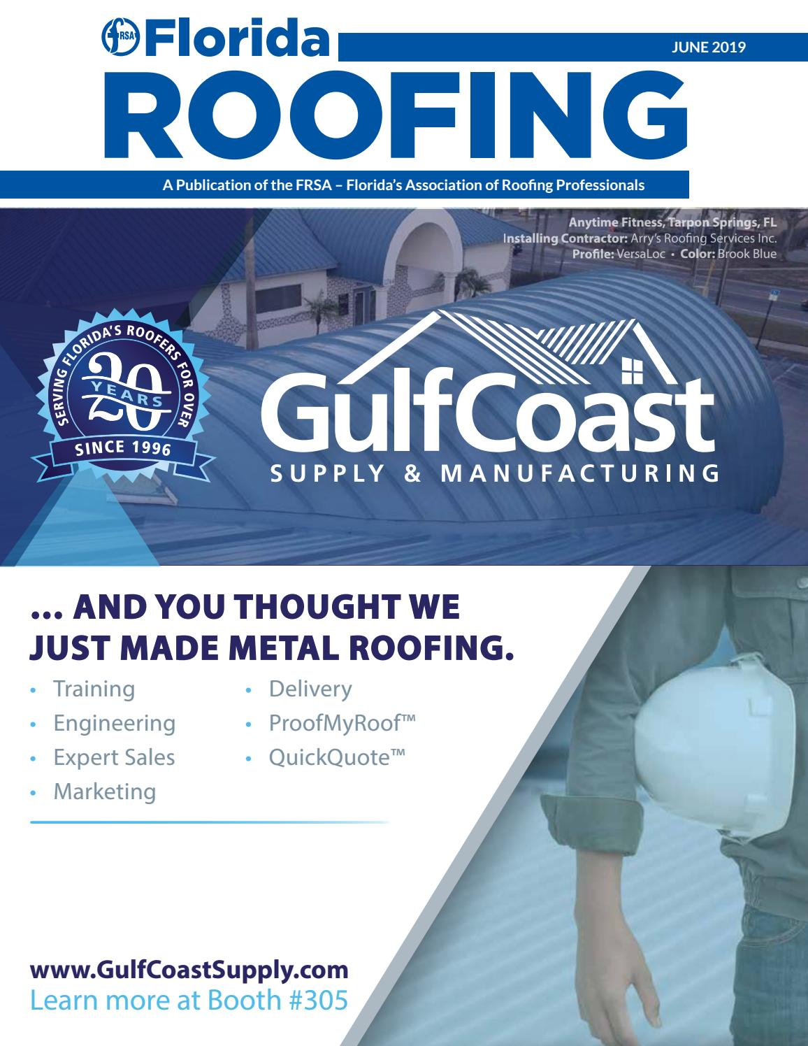 June 2019 by Florida Roofing Magazine - issuu