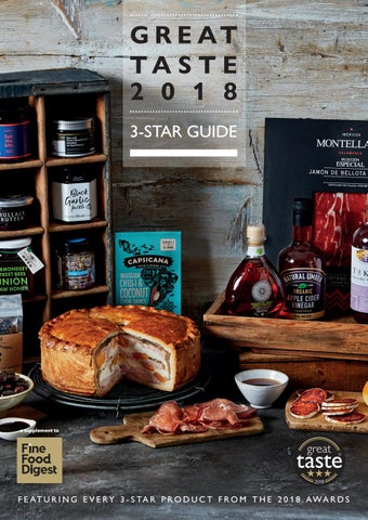 Great Taste 2018 3-Star by Guild of Fine Food - issuu