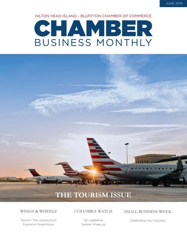 Page 1 of The June Issue of Chamber Business Monthly