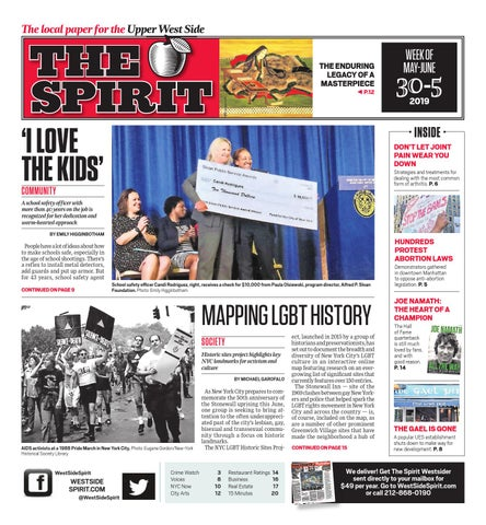 West Side Spirit - May 30, 2019