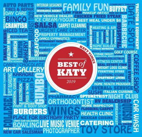 Best of Katy 2019 by Digital Publisher - issuu