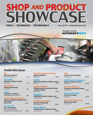 June 2019 Autobody News Shop & Product Showcase by Autobody