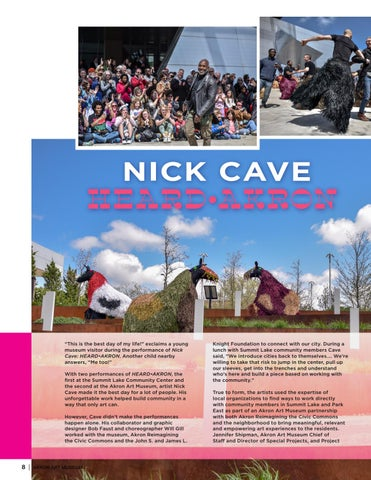 Page 8 of Nick Cave – HEARD•AKRON Recap