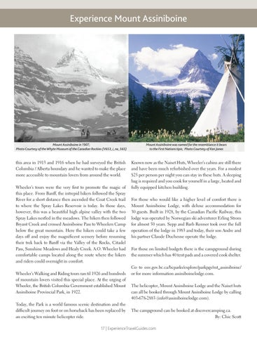 Page 17 of Experience Mount Assiniboine
