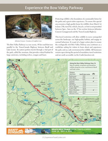 Page 21 of Experience the Bow Valley Parkway