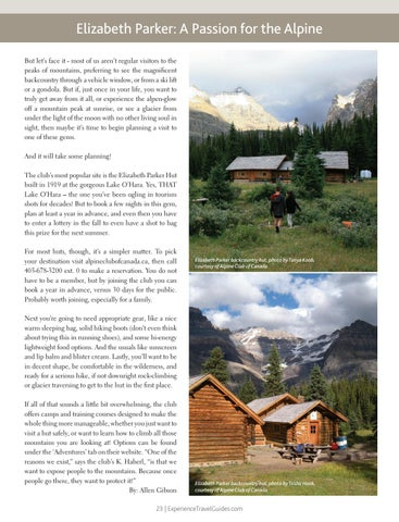 Page 23 of Elizabeth Parker: A Passion for the Alpine