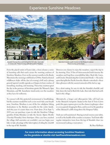 Page 24 of Experience Sunshine Meadows
