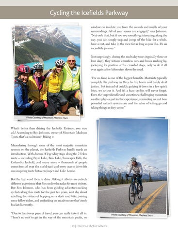 Page 30 of Cycling the Icefields Parkway