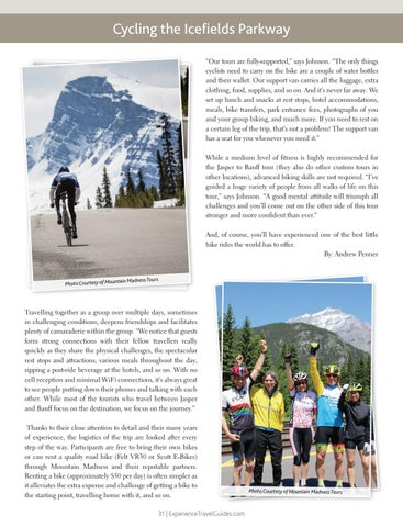 Page 31 of Cycling the Icefields Parkway